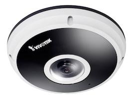 Vivotek 5MP 360 Degree Surround View 10m Smart IR 3DNR IP66 IK10 Pixel Calculator Fisheye Network Camera, FE8181V, 17934133, Cameras - Security