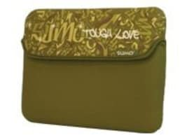 Mobile Edge 8.9 Graffiti Netbook Sleeve, Green, ME-SUMO77899, 9740865, Protective & Dust Covers