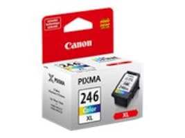 Canon CL-246 XL High Capacity Color Ink Cartridge, 8280B001, 16074629, Ink Cartridges & Ink Refill Kits
