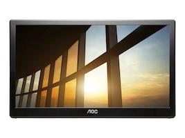 AOC 15.6 I1659FWUX LCD IPS Monitor, Black, I1659FWUX, 33927056, Monitors
