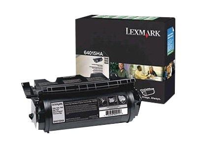 Lexmark Black High Yield Return Program Toner Cartridge for T640, T642 & T644 Series Printers, 64015HA, 5907218, Toner and Imaging Components - OEM