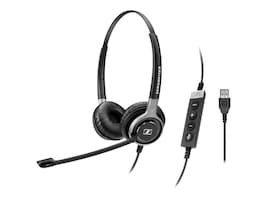 Sennheiser SC 660 Dual Sided USB ML Headset, SC660 USB ML, 16375835, Headsets (w/ microphone)