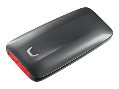 Samsung 500GB X5 Thunderbolt 3 Portable Solid State Drive, MU-PB500B/AM, 36132110, Solid State Drives - External