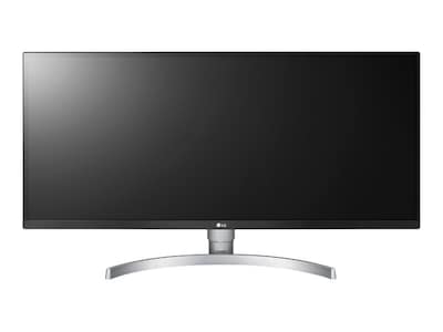 LG 34 BK650-W WFHD LED-LCD Ultrawide Screen Display, Silver White, 34BK650-W, 36608202, Monitors