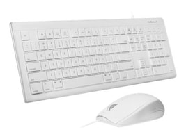 Macally 103-Key Full-Size USB Keyboard w  Shortcut Keys and (3) Button USB Optical Mouse Combo, MKEYECOMBO, 31137042, Keyboard/Mouse Combinations