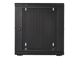 V7 12U Rack Wall Mount Vented Enclosure, RMWC12UV450-1N, 36864273, Racks & Cabinets