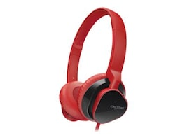Creative Labs HITZ MA2300 Headset, Red, 51EF0630AA010, 16094831, Headsets (w/ microphone)