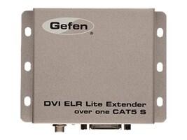 Gefen DVI ELR Lite Extender over CAT5, EXT-DVI-1CAT5-SR, 17999359, Video Extenders & Splitters