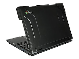 Max Cases Max Extreme Shell for Lenovo 11 500e Chromebook Yoga, Black, LN-ES-500E-CBY-BLK, 35671322, Carrying Cases - Notebook