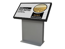 Peerless-AV Xtreme Outdoor Landscape Kiosk with 55 Optically Bonded Display, KOL555-XTR, 35678882, Monitors - Large Format