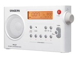 Sangean AM FM Rechargeable Receiver, PR-D7, 8725583, Stereo Components