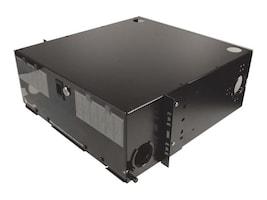 Siemon Fiber Enclosure Ric Rack Mount 4U Slide 12 Opens Expanded Black, RIC3E-72-01, 33870820, Rack Cable Management