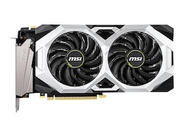 MSI GeForce RTX 2070 Super Ventus Overclocked PCIe 3.0 Graphics Card, 8GB GDDR6, G207S-VC, 37251268, Graphics/Video Accelerators