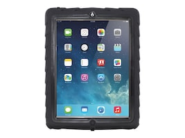 Gumdrop DropTech Case for Apple iPad 3, Black, DS-IPAD3-BLK-BLK, 34078519, Carrying Cases - Tablets & eReaders