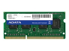A-Data ADATA 8G 1600 DDR3L SODIMM 512, ADDS1600W8G11-B, 41044510, Memory