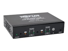 Tripp Lite 2x2 HDMI F F over Cat5 Cat6 Matrix Extender Switch with x2 RJ-45 , TAA, B126-2X2, 16810462, Switch Boxes - AV