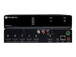Atlona 4K UHD, 5-Input HDMI Switcher, AT-UHD-SW-51, 19287718, Switch Boxes - AV
