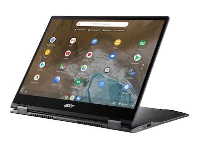 Acer Chromebook Enterprise Spin CP713-2W-76P2 i7-10610U 16GB 256GB SSD ax BT WC 13.5 PS MT Chrome Ent OS, NX.HWNAA.003, 41155963, Notebooks - Convertible