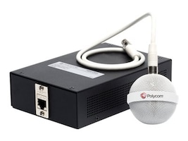 Polycom HDX Ceiling Mic White Primary, 2200-23809-002, 12038313, Audio/Video Conference Hardware