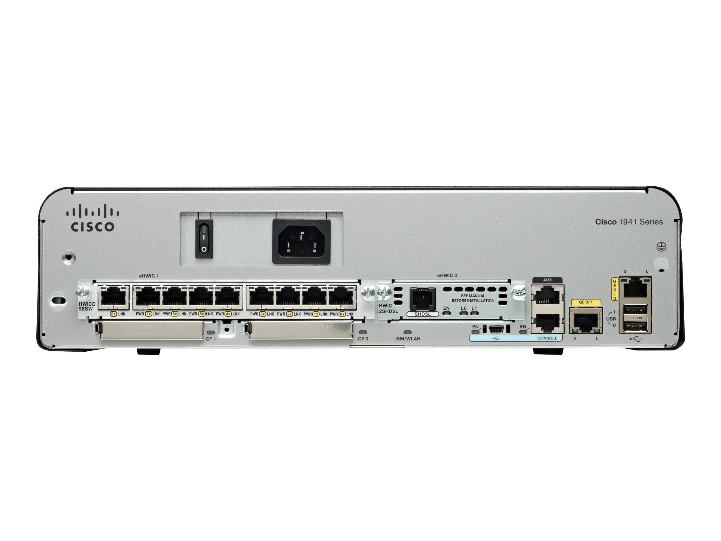Cisco 1921 Modular Router