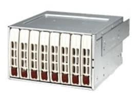 Supermicro Mobile Rack SAS SATA Hard Disk Drive 2x Expander- White (8 x 2.5  trays), CSE-M28E2, 7474170, Hard Drive Enclosures - Multiple