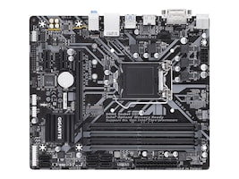 Gigabyte Tech Motherboard, Z370M DS3H Z370 MP LGA1151 I-SERIES MAX-64GB DDR4 MATX PCIE16, Z370M DS3H, 35405673, Motherboards