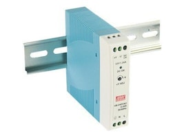 IMC 20W Power Supply Rail Mount 24VDC 1.0A, MDR-20-24, 16036091, Power Supply Units (internal)