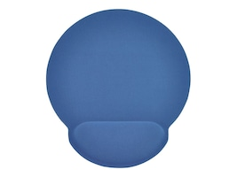 Gear Head Mouse Pad with Wrist Rest, Memory Foam, Blue, MPWR4100BLU, 13785628, Ergonomic Products