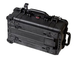 Pelican 1510NF Carry-on Hard Case No Foam 19.75 x 11 x 7.6, Black, 1510-001-110, 25745842, Carrying Cases - Other