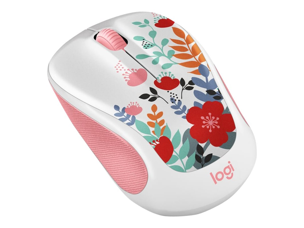 Logitech M325C Wireless Mouse, Summer Bouquet (910-005656)