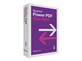 Nuance Power PDF 3.0 Standard Retail -English, AS09A-G00-3.0, 35866656, Software - File Sharing