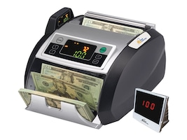 Royal Sovereign Bill Counter 200 Hopper 1000 Bills Min Backloading, RBC-2100, 31203847, Cash Drawers