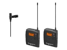 Sennheiser Wireless Microphone Kit with EK 100 G3 Diversity Receiver Frequency Band A, EW112PG3-A (503107), 31964283, Microphones & Accessories