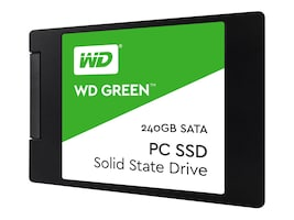 WD 240GB WD Green SATA 6Gb s 2.5 7mm Internal Solid State Drive, WDS240G2G0A, 34983017, Solid State Drives - Internal