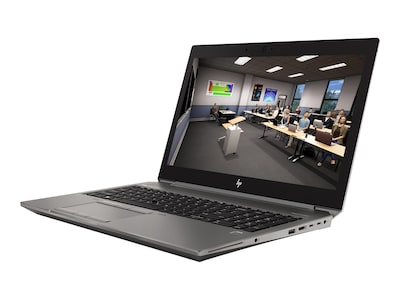 HP ZBook 15 G6 Core i7-9750H 2.6GHz 16GB 512GB PCIe ax BT FR WC T1000 15.6 FHD W10P64, 8LK80UT#ABA, 37496783, Workstations - Mobile