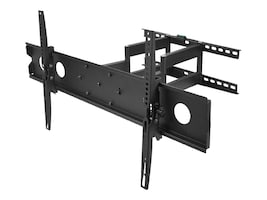 Siig Large Full-Motion TV Wall Mount, CE-MT1F12-S1, 18115009, Stands & Mounts - AV