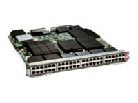 Cisco WS-X6848-TX-2T Main Image from Left-angle