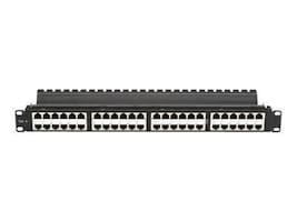 Black Box CAT6 High-Density Feed-Through Patch Panel, JPM816A-HD, 11522293, Patch Panels