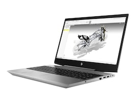 HP ZBook 15V G5 Core i7-8750H 2.2GHz 16GB 512GB PCIe ac BT FR WC P600 15.6 FHD MT W10P64, 4NL20UT#ABA, 35689274, Workstations - Mobile
