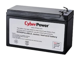 CyberPower Replacement Battery, RB1270C, 36853128, Batteries - Other