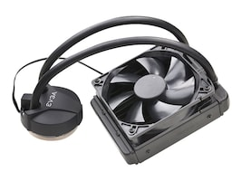 eVGA CLC 120 CL11 Liquid Water CPU Cooler, Intel Cooling, 400-HY-CL11-V1, 36446258, Cooling Systems/Fans
