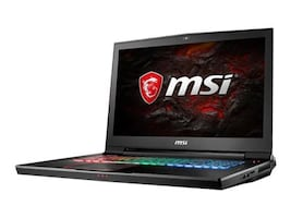 MSI GT73VR Titan Pro 866 Core i7-7820HQ 2.9GHz 16GB 256GB SSD+1TB ac BT WC GTX1080 17.3 FHD W10, GT73VR866, 34282907, Notebooks