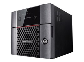 BUFFALO 4TB TeraStation 3210DN Desktop NAS, TS3210DN0402, 33591484, Network Attached Storage