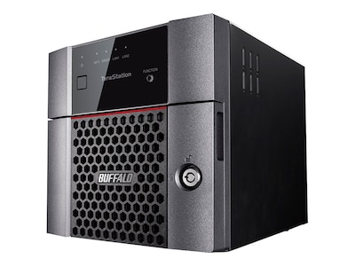 BUFFALO TeraStation 3210DN Desktop 4 TB NAS Hard Drives Included, TS3210DN0402, 33591484, Network Attached Storage