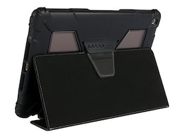Max Cases Extreme Folio for iPad 5, AP-EF-IP5-9-BLK, 34123738, Carrying Cases - Tablets & eReaders