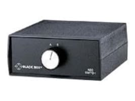 Black Box Desktop DB37 2 to 1 Manual Switch FFF All Leads, SWL350A-FFF, 34467995, Network Switches