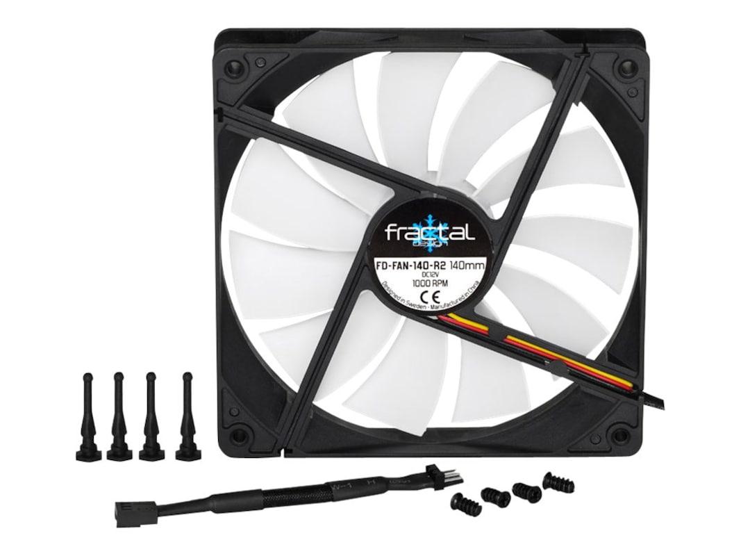 Fractal Design Silent Series R2 140mm Fan Fd Fan Ssr2 140