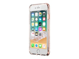 Griffin Survivor Clear Case for iPhone 6 Plus 7 Plus, Rose Gold, GB42317-2, 34510501, Carrying Cases - Phones/PDAs