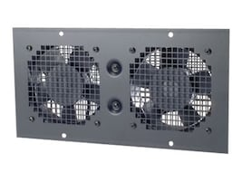 APC Wall Mount Fan Tray 230VAC, Black (AR8207BLK), AR8207BLK, 416791, Rack Cooling Systems