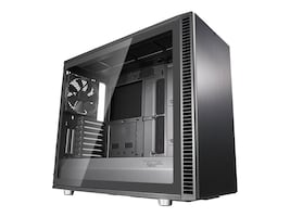 Fractal Design Chassis, Define S2 Tempered glass, Gunmetal, FD-CA-DEF-S2-GY-TGL, 36225359, Cases - Systems/Servers
